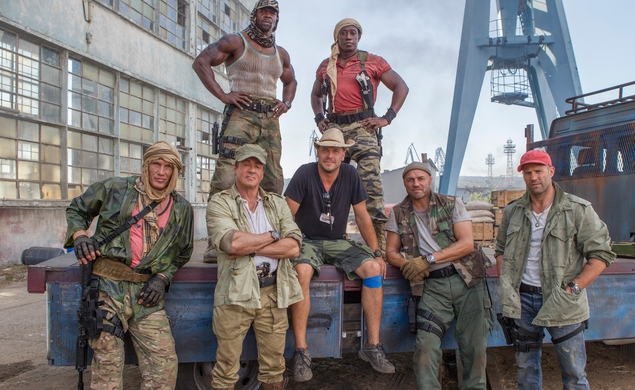 The Expendables 3 trailer features every action star in human history (except Bruce Willis)