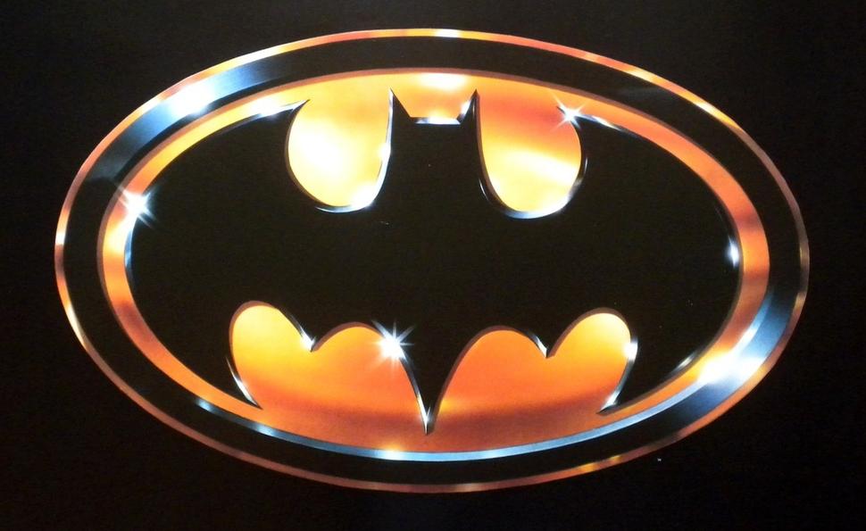 Batman Chest Emblem for Costume 1966 Adam West TV Series Bat Signal Logo